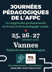 Congrès AFPC 2021